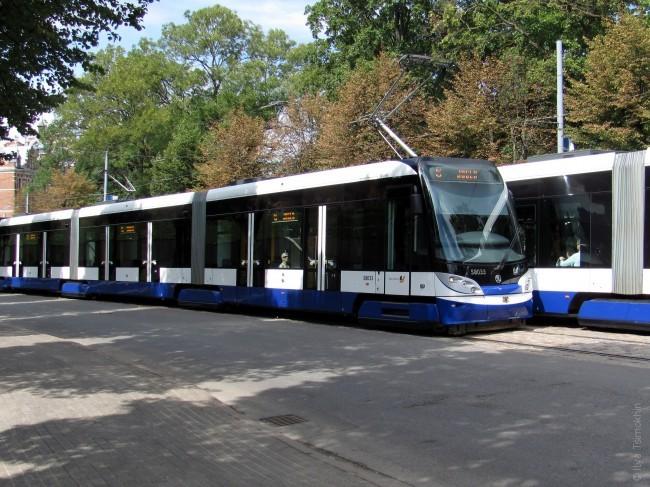 Новы трамвай у Рызе