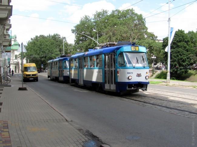 Стары трамвай у Рызе