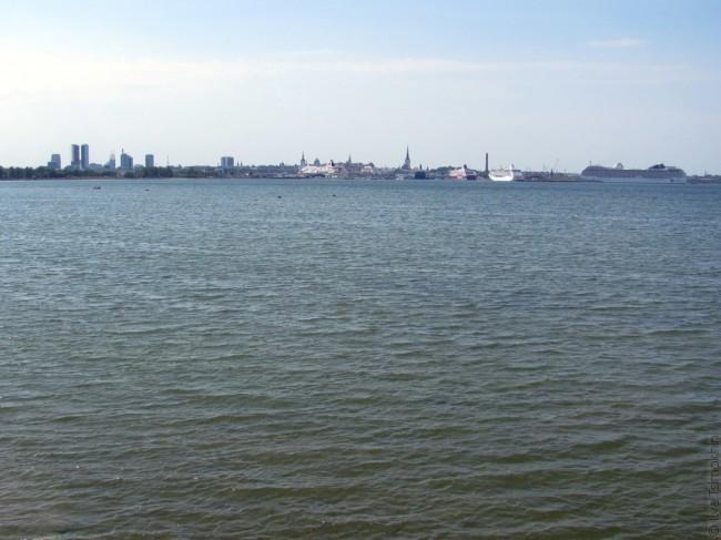 Краявід Таліна і мора